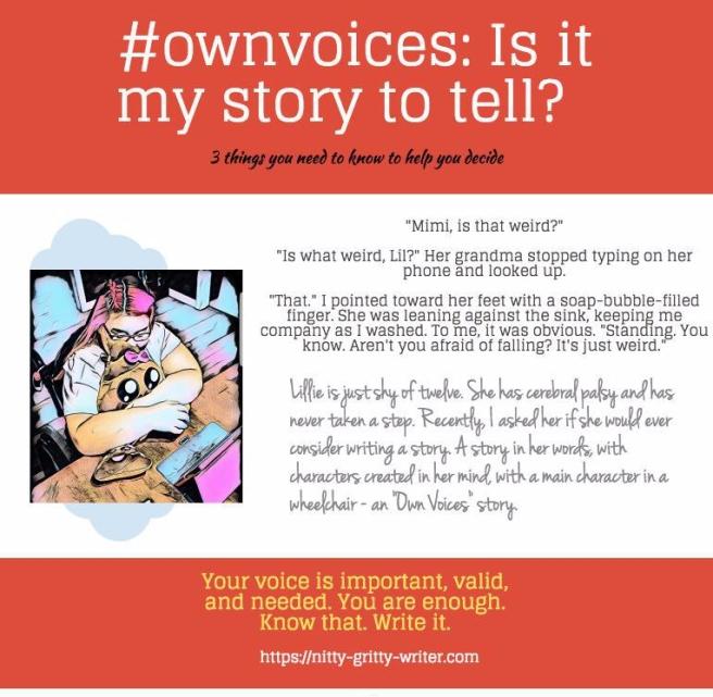 #ownvoice